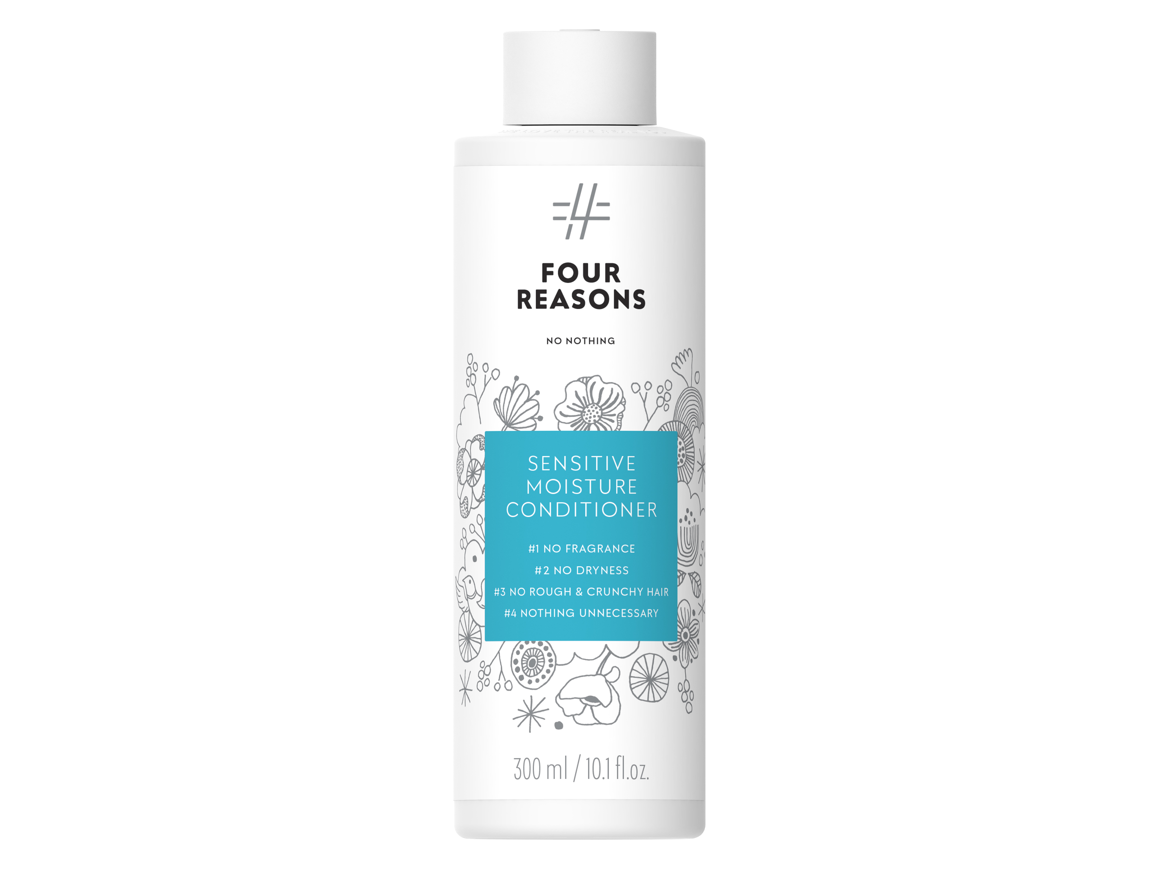 Four Reasons No Nothing Sensitive Moisture Conditioner, 300 ml