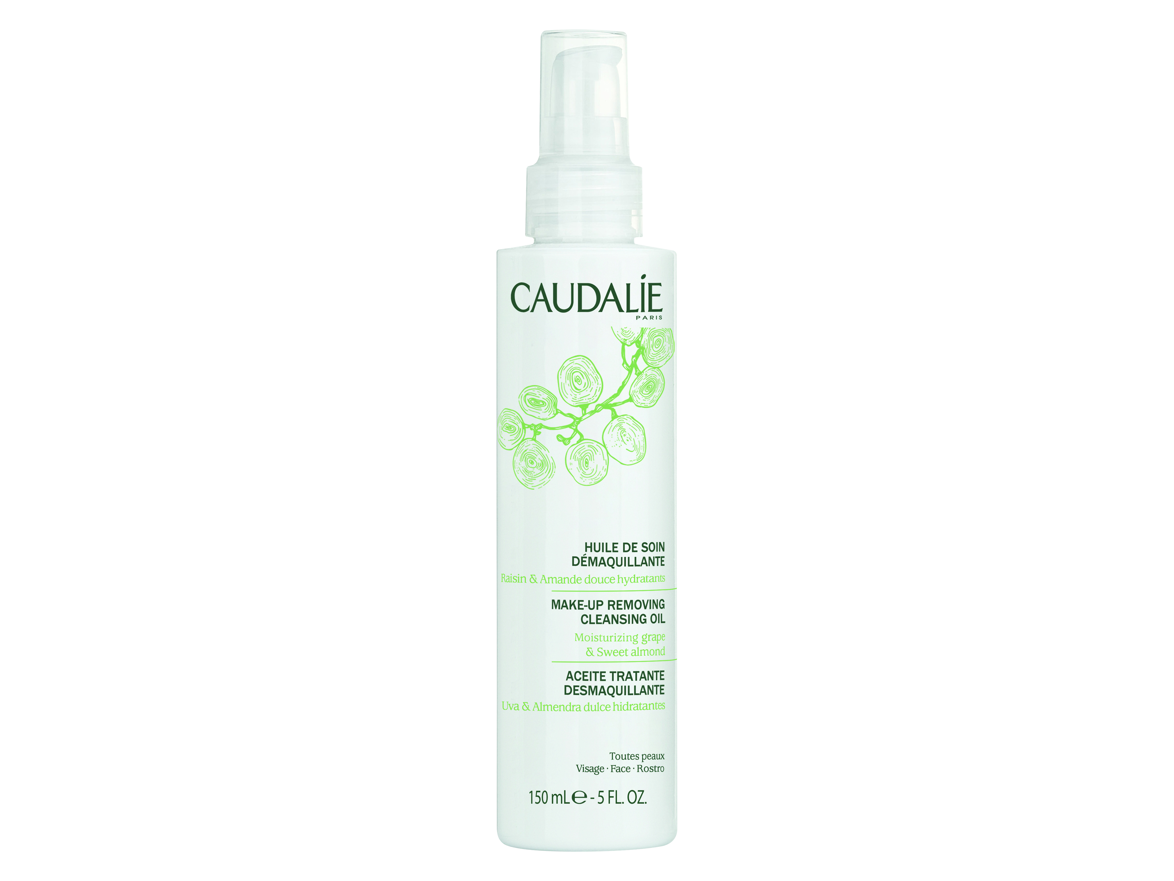 Caudalie Makeup Removing Cleansing Oil, 150 ml