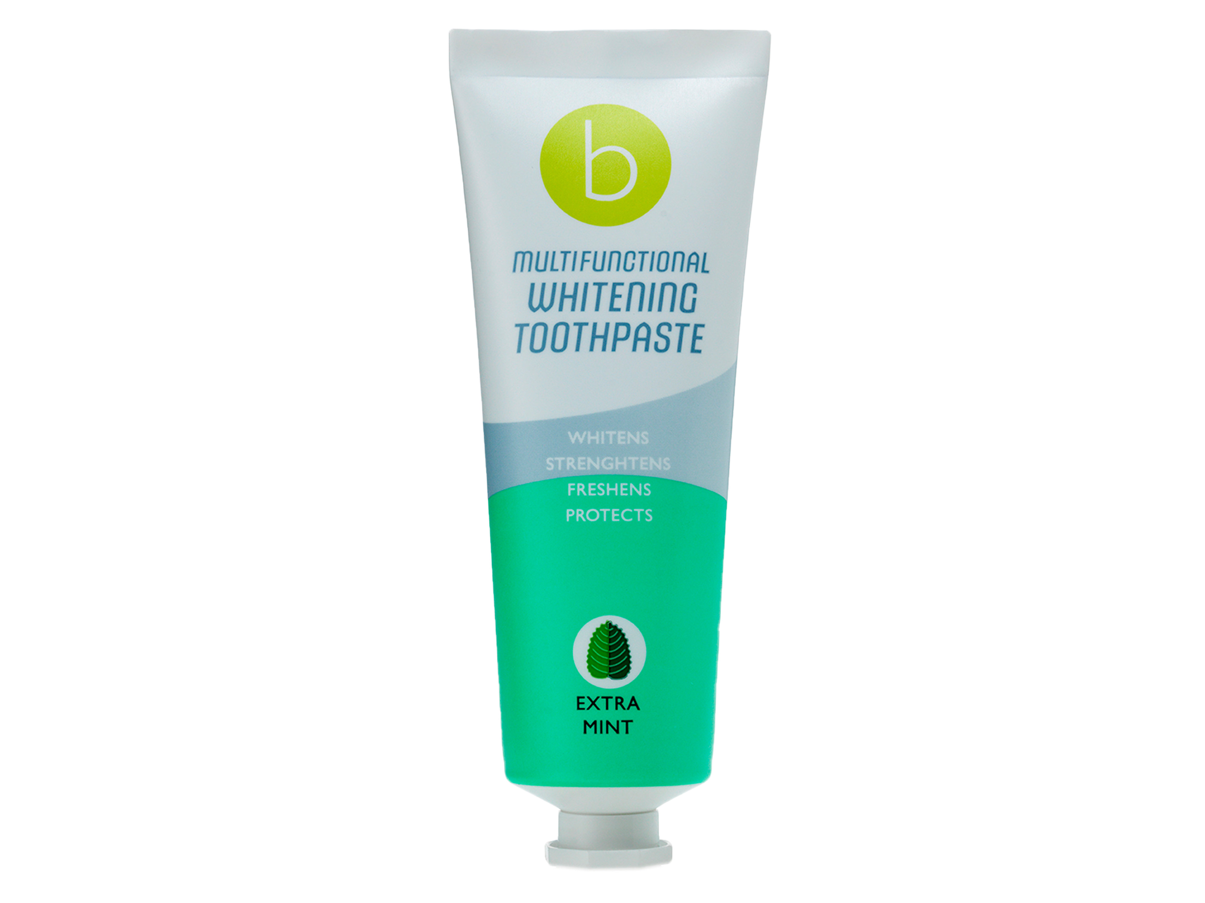 Beconfident Multifunctional  Whitening Toothpaste, med smak av Extra Mint, 75 ml