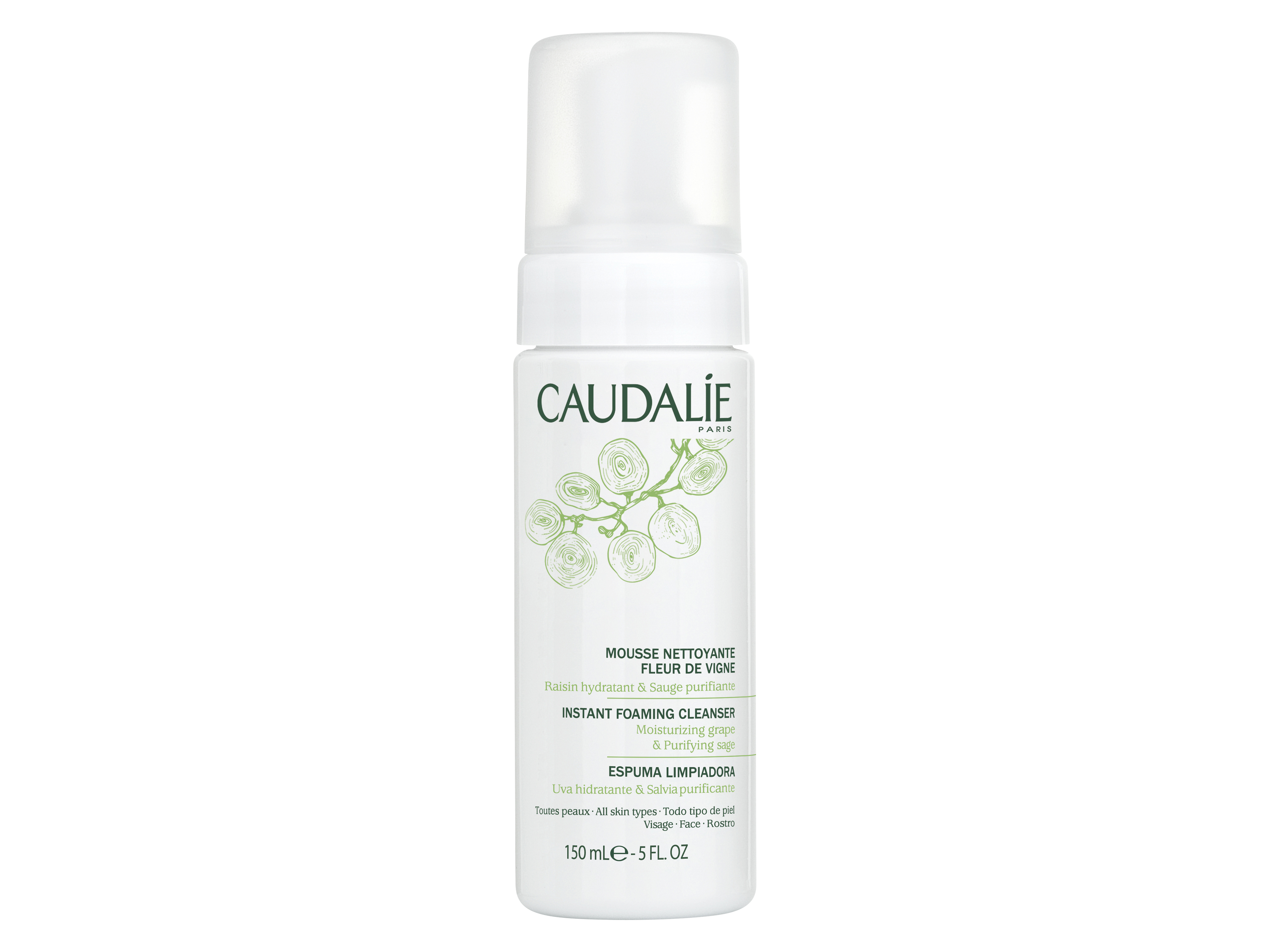 Caudalie Instant Foaming Cleanser, 150 ml