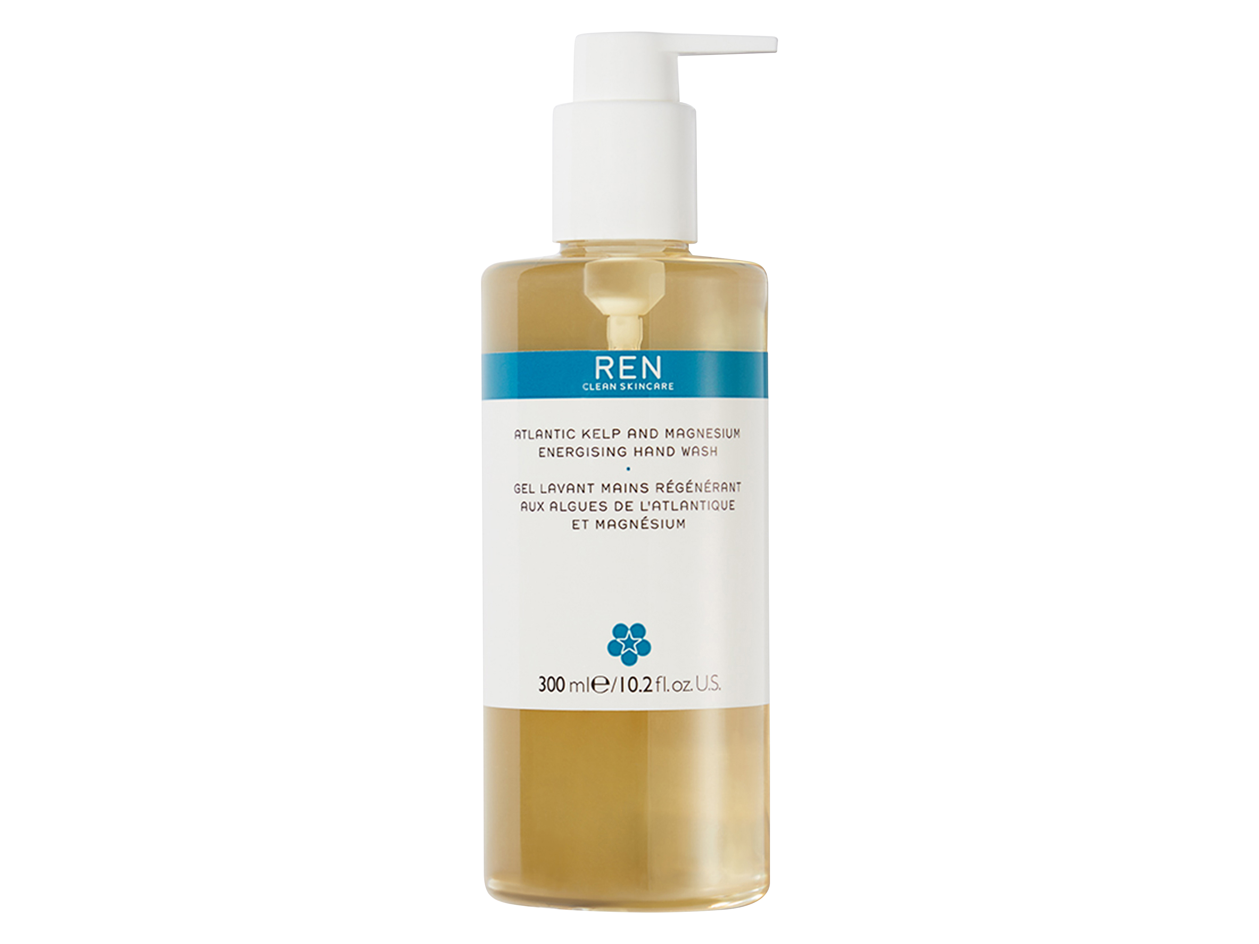 REN Atlantic Kelp And Magnesium Energising Hand Wash, 300 ml