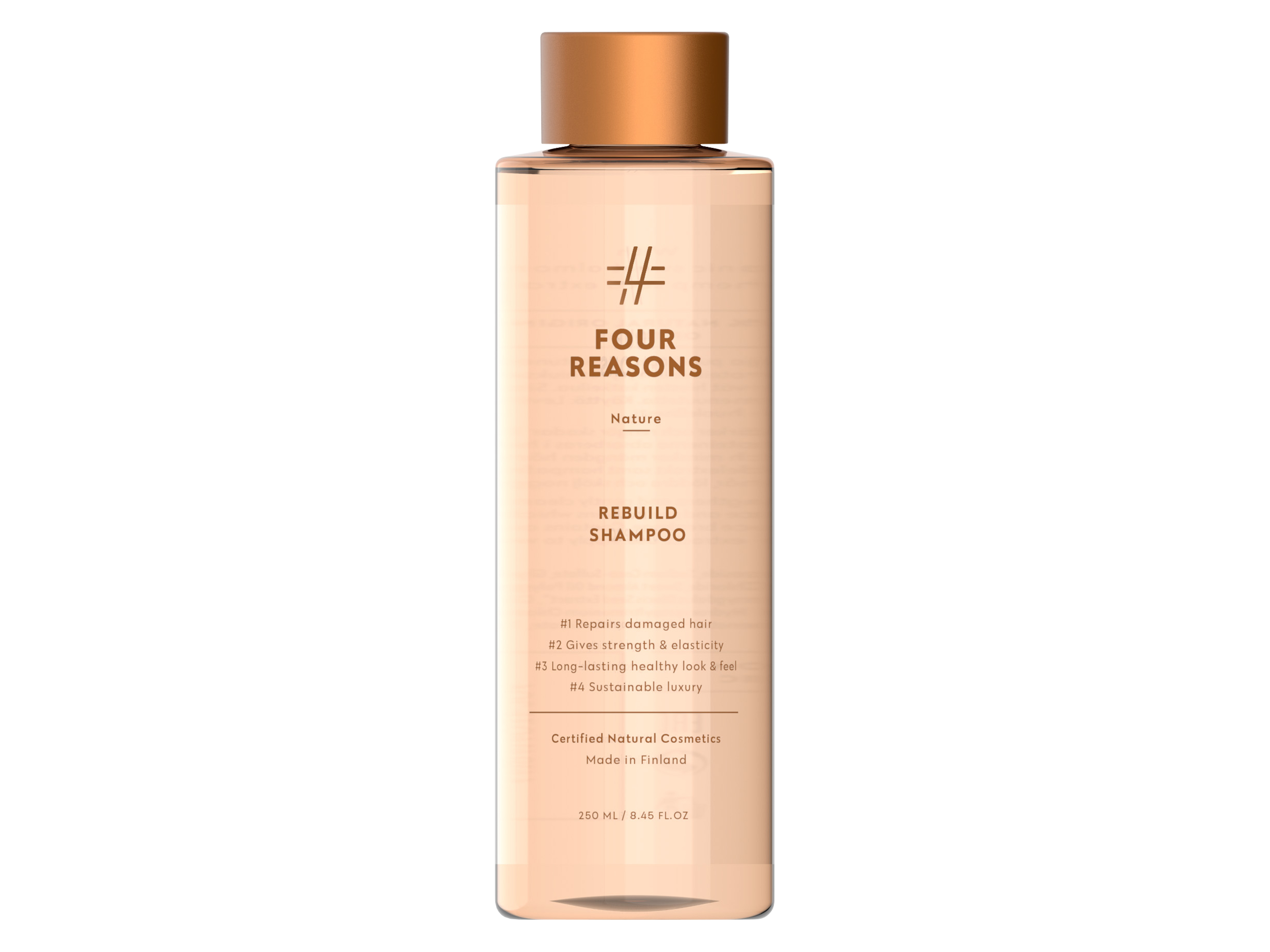 Four Reasons Nature Rebuild Shampoo, 250 ml