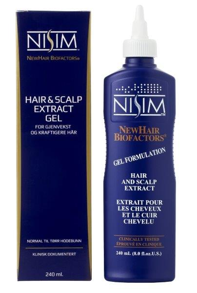 Nisim Hair and Scalp Extract Gel Formulation, 240 ml