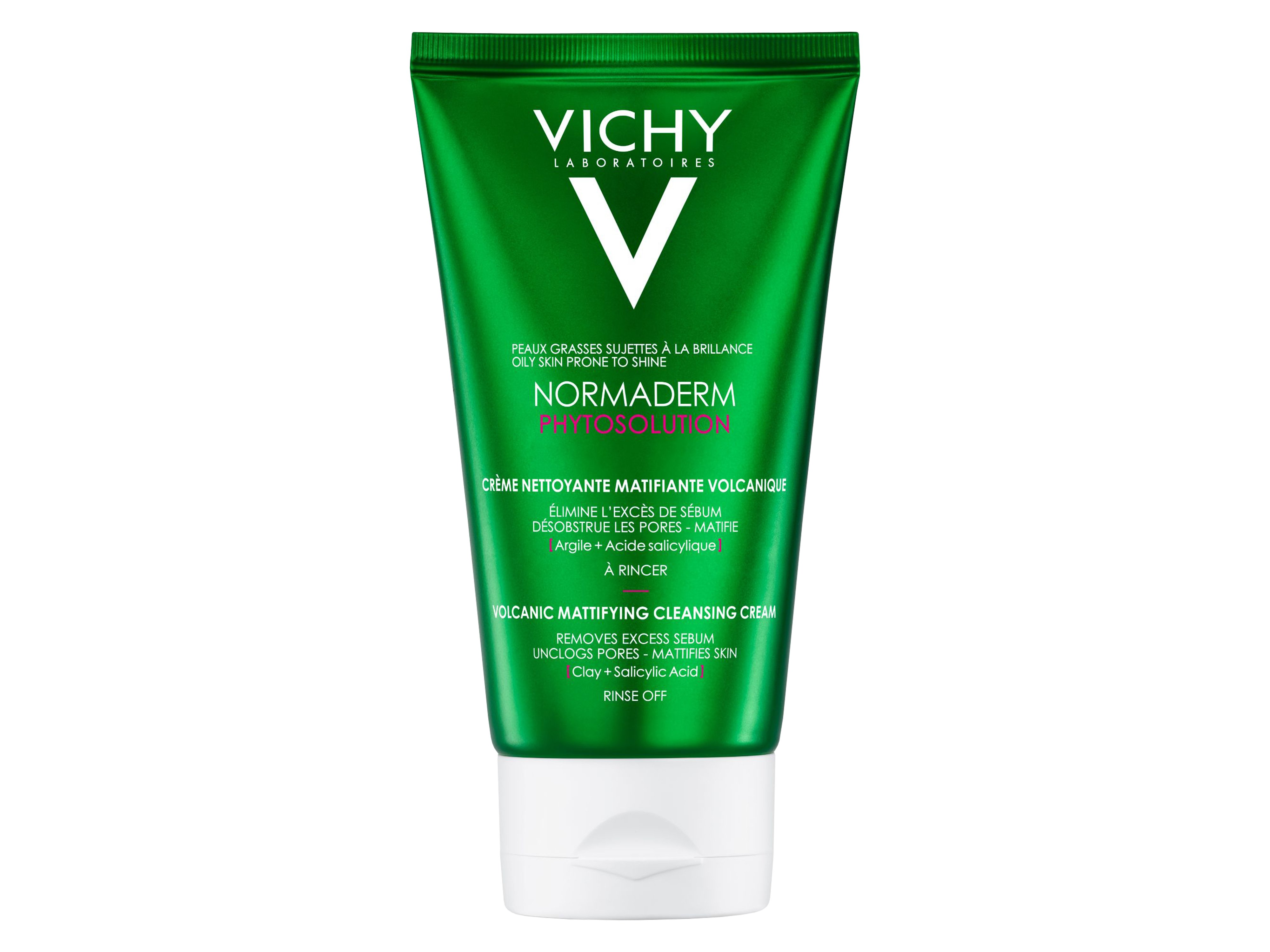 Vichy Normaderm Phytosolution Volcanic Matiifying Cleanser, 125 ml