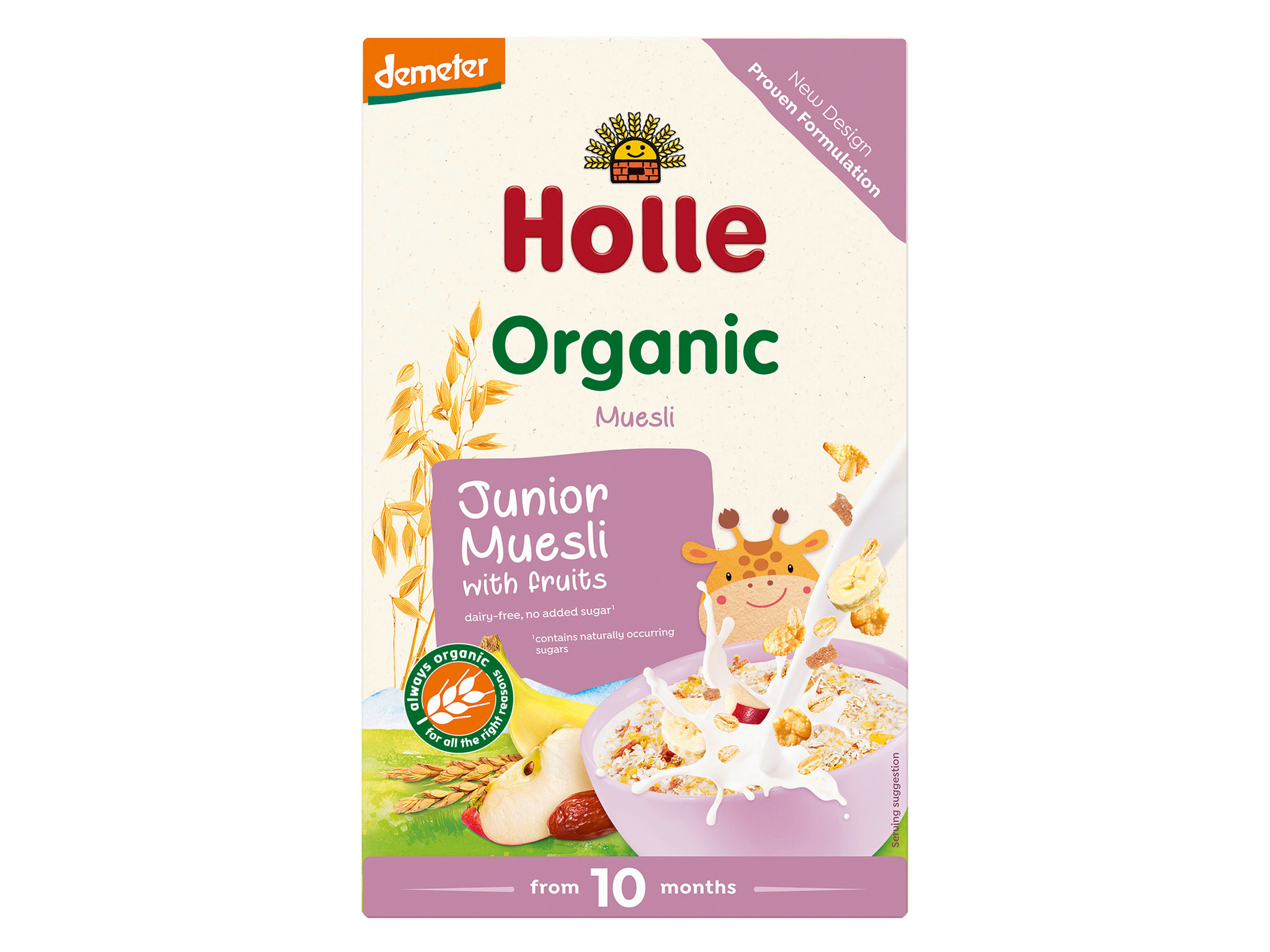 Holle Junior Fullkornsmüsli, 250 gram
