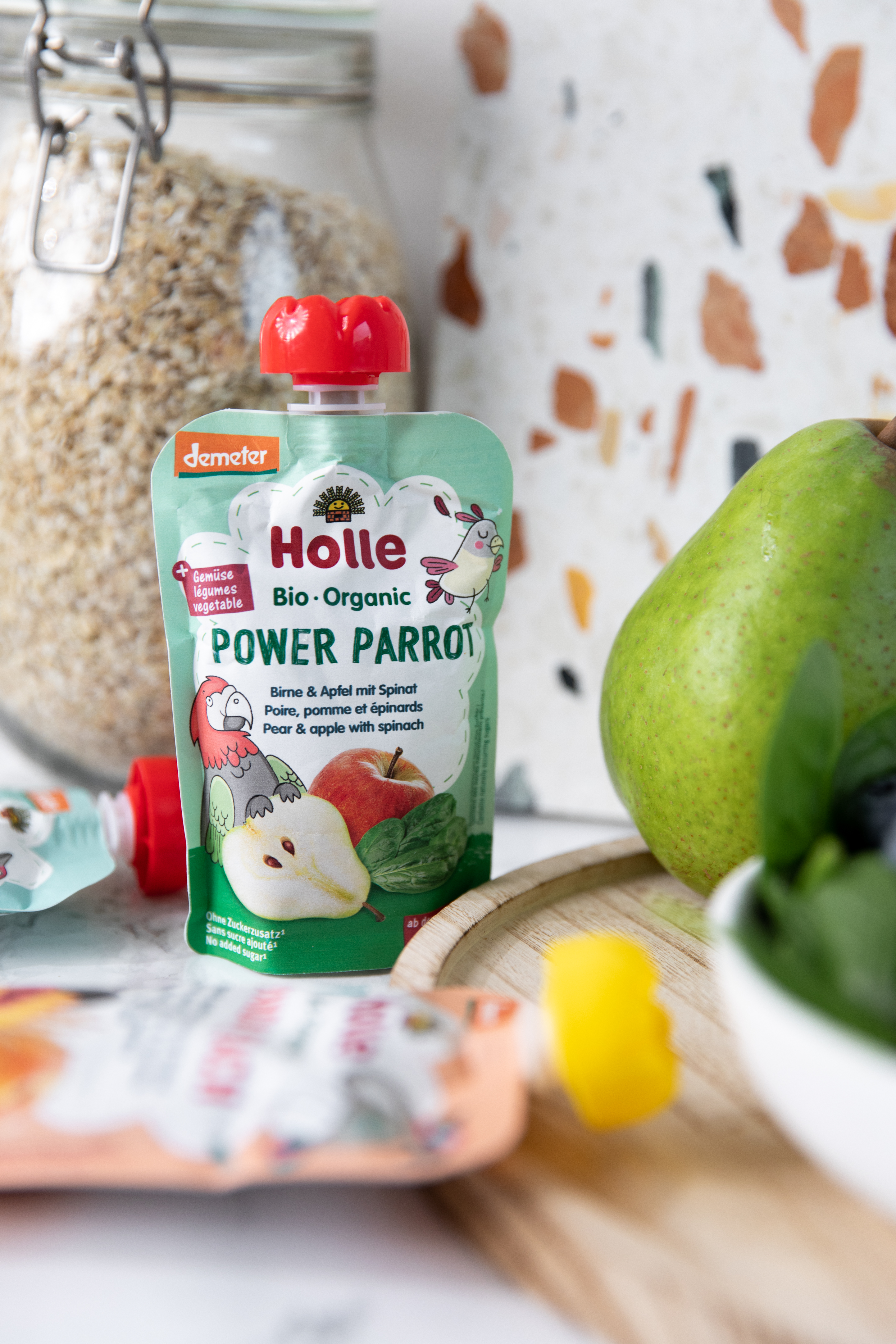 Holle Smoothie Power Parrot, 100 gram