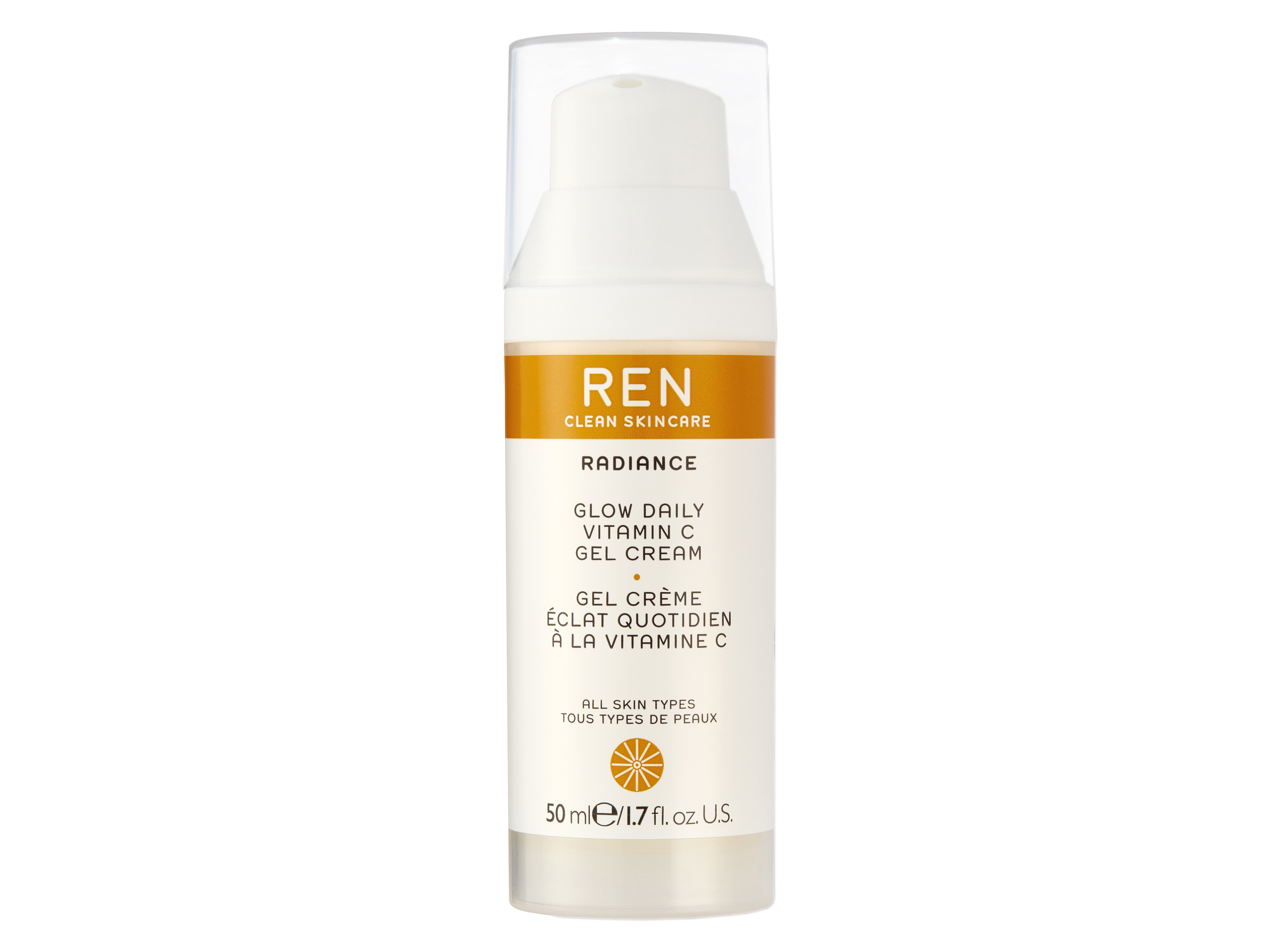 REN Glow Vitamin C Gel Cream, 50 ml