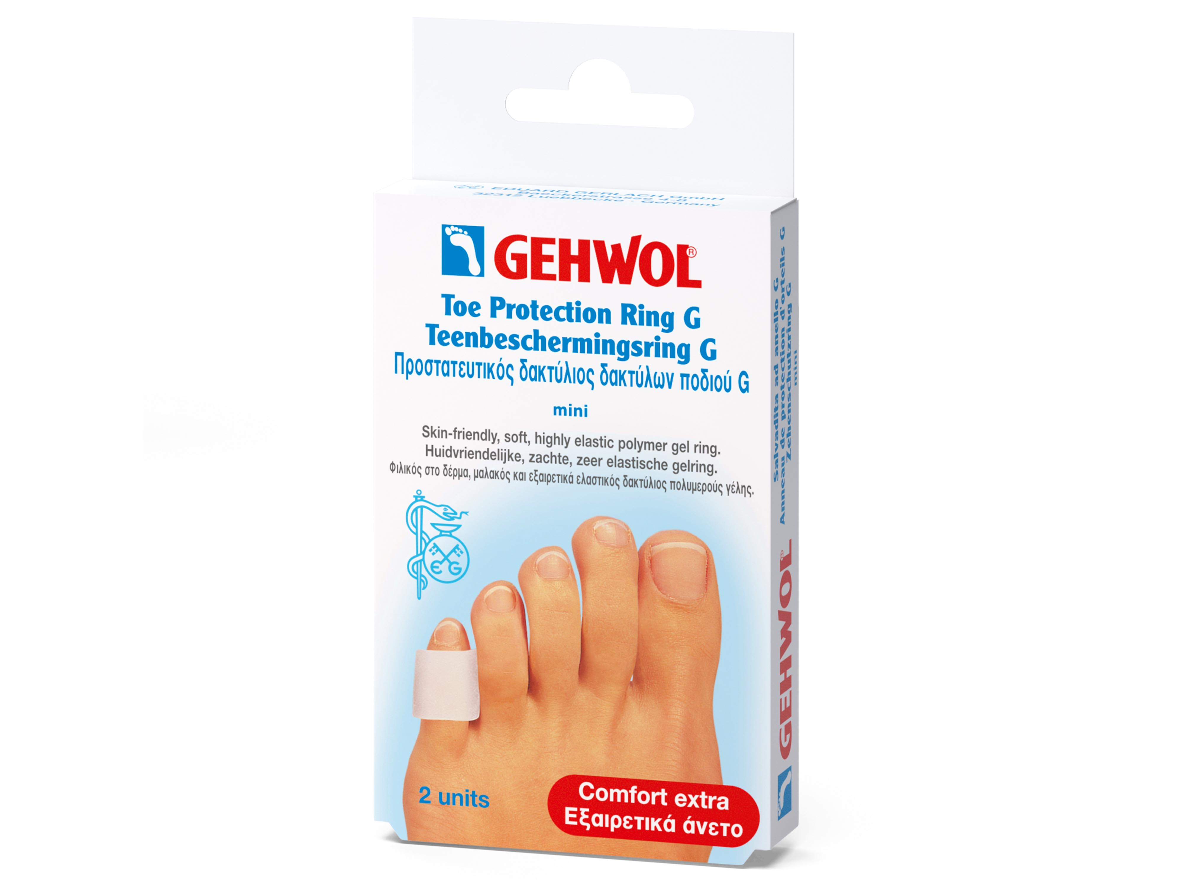 Gehwol Toe Protection Ring G, Mini, 2 stk.