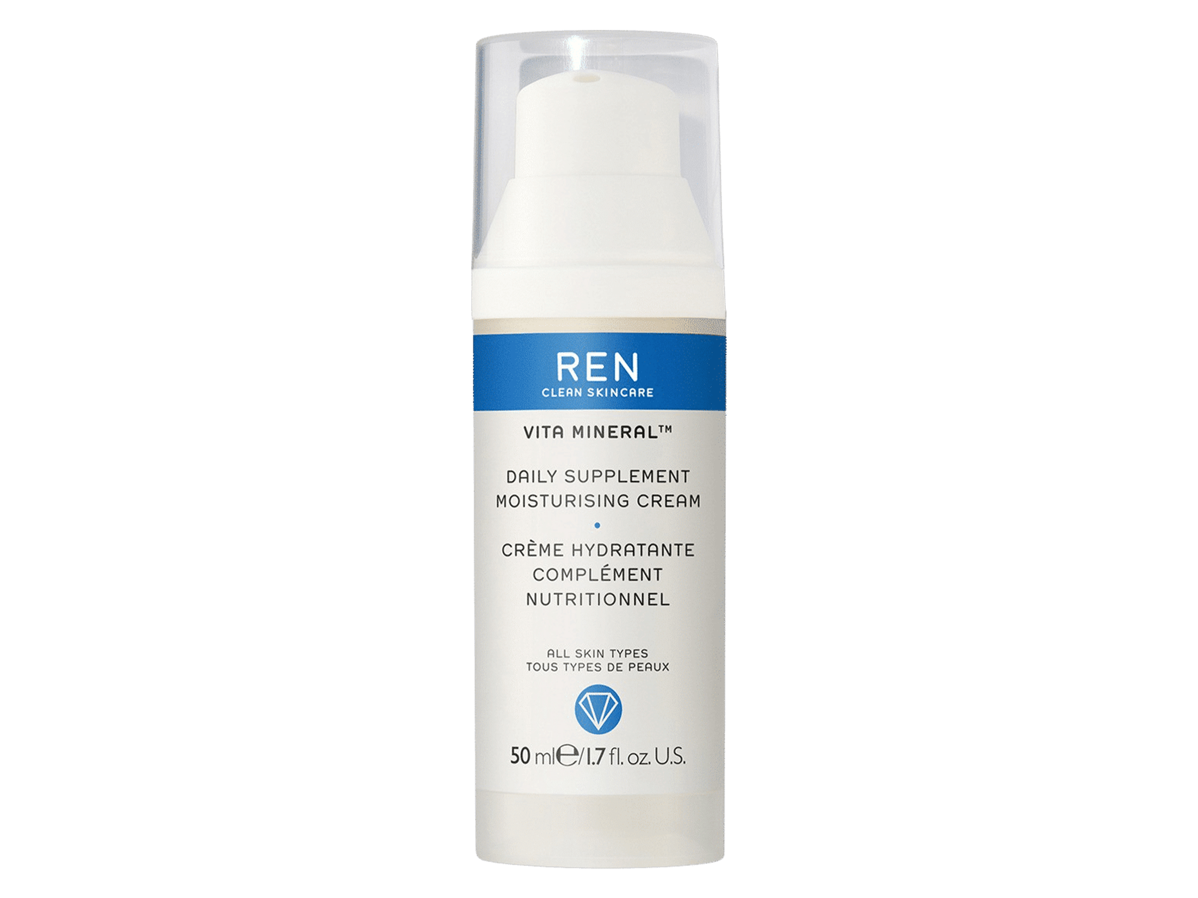 REN Vita Mineral Moisturising Day Cream, 50 ml