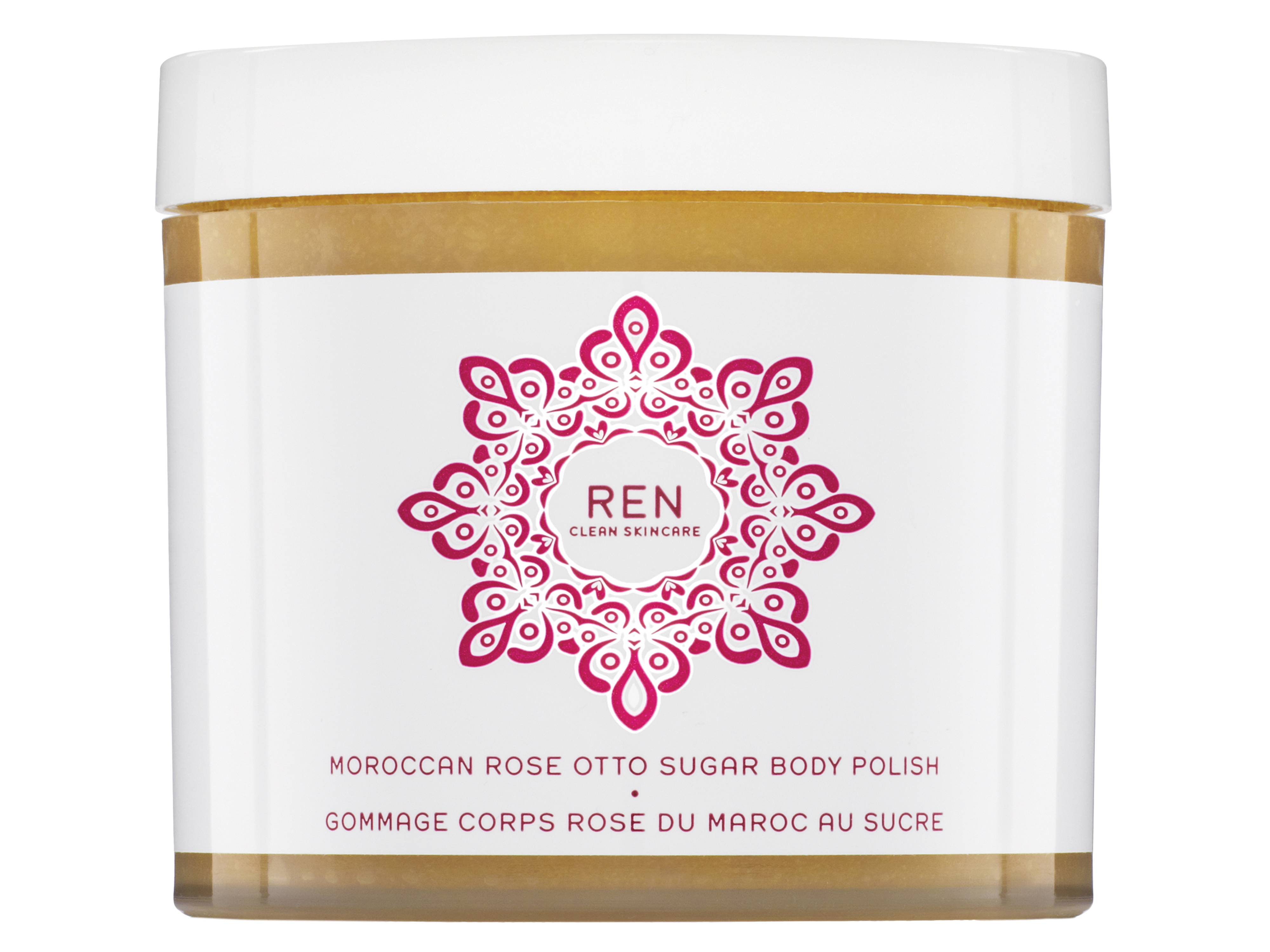 REN Moroccan Rose Otto Sugar Body Polish, 330 ml