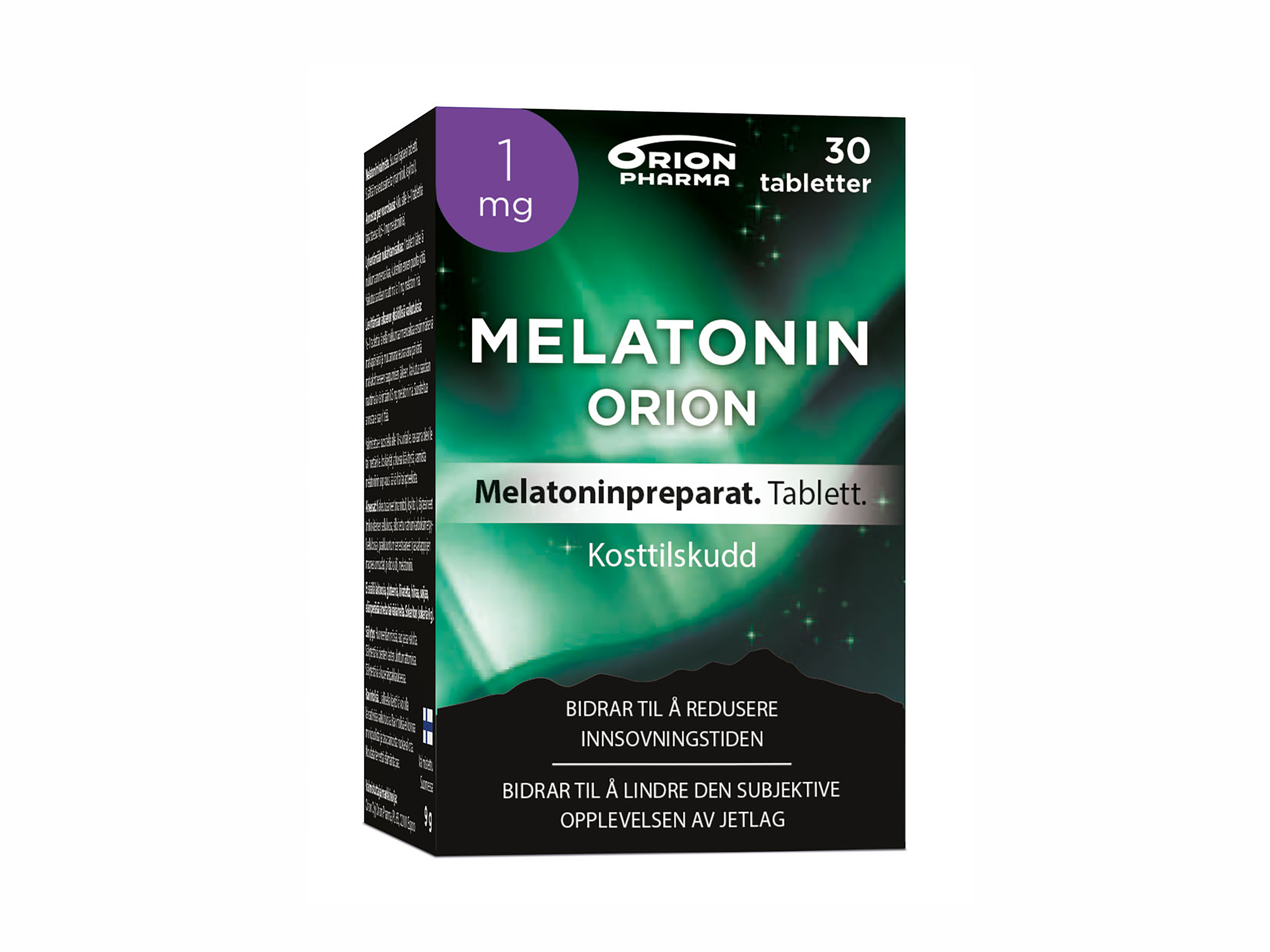 Orion Melatonin Tablett 1mg, 30 stk