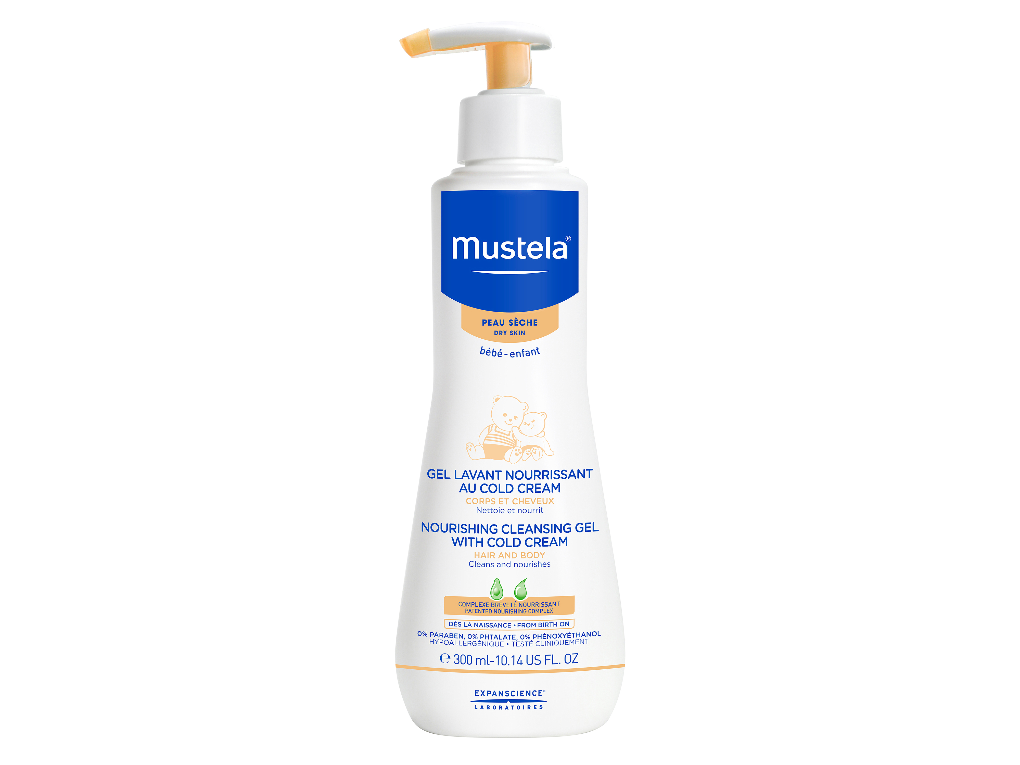 Mustela Nourishing Cleansing Gel, 300 ml