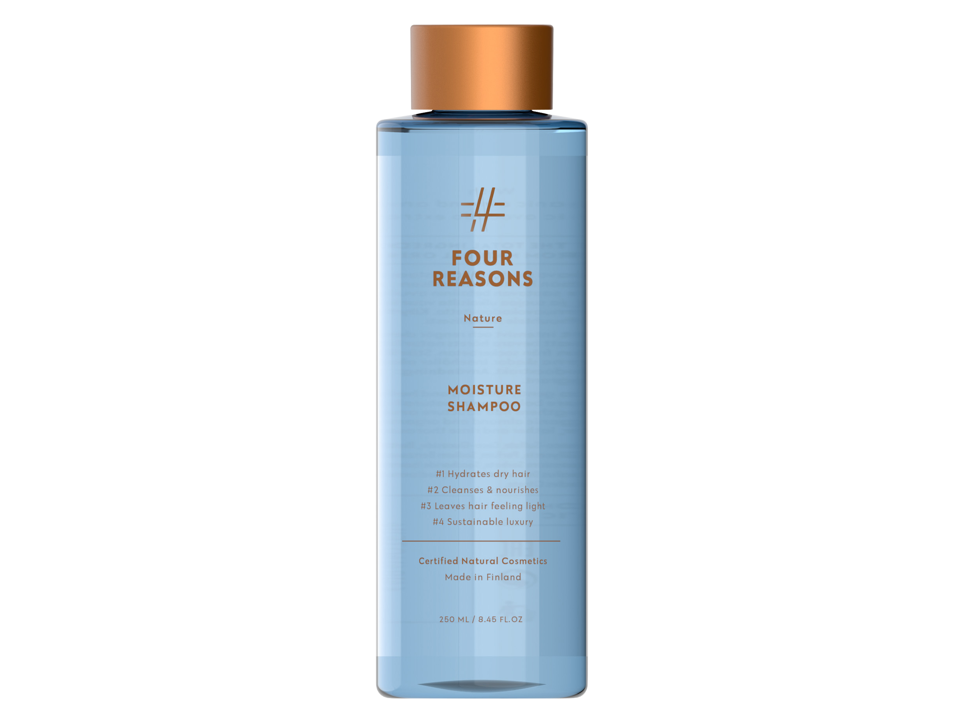 Four Reasons Nature Moisture Shampoo, 250 ml