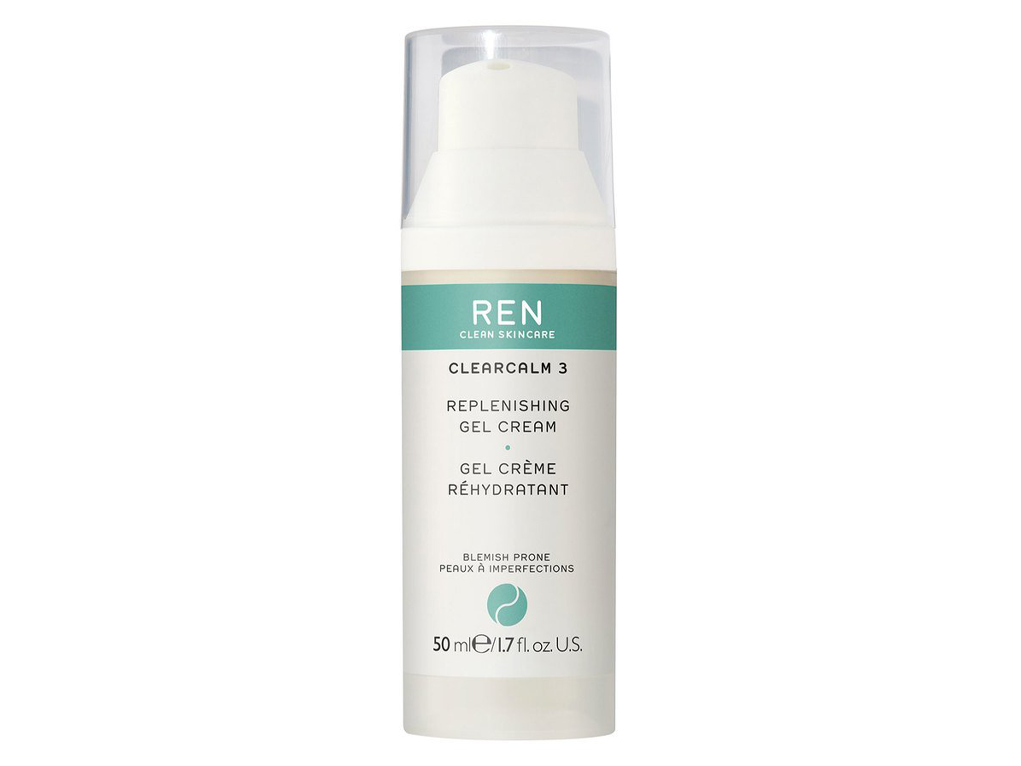 REN Clearcalm 3 Replenishing Gel Cream, 50 ml