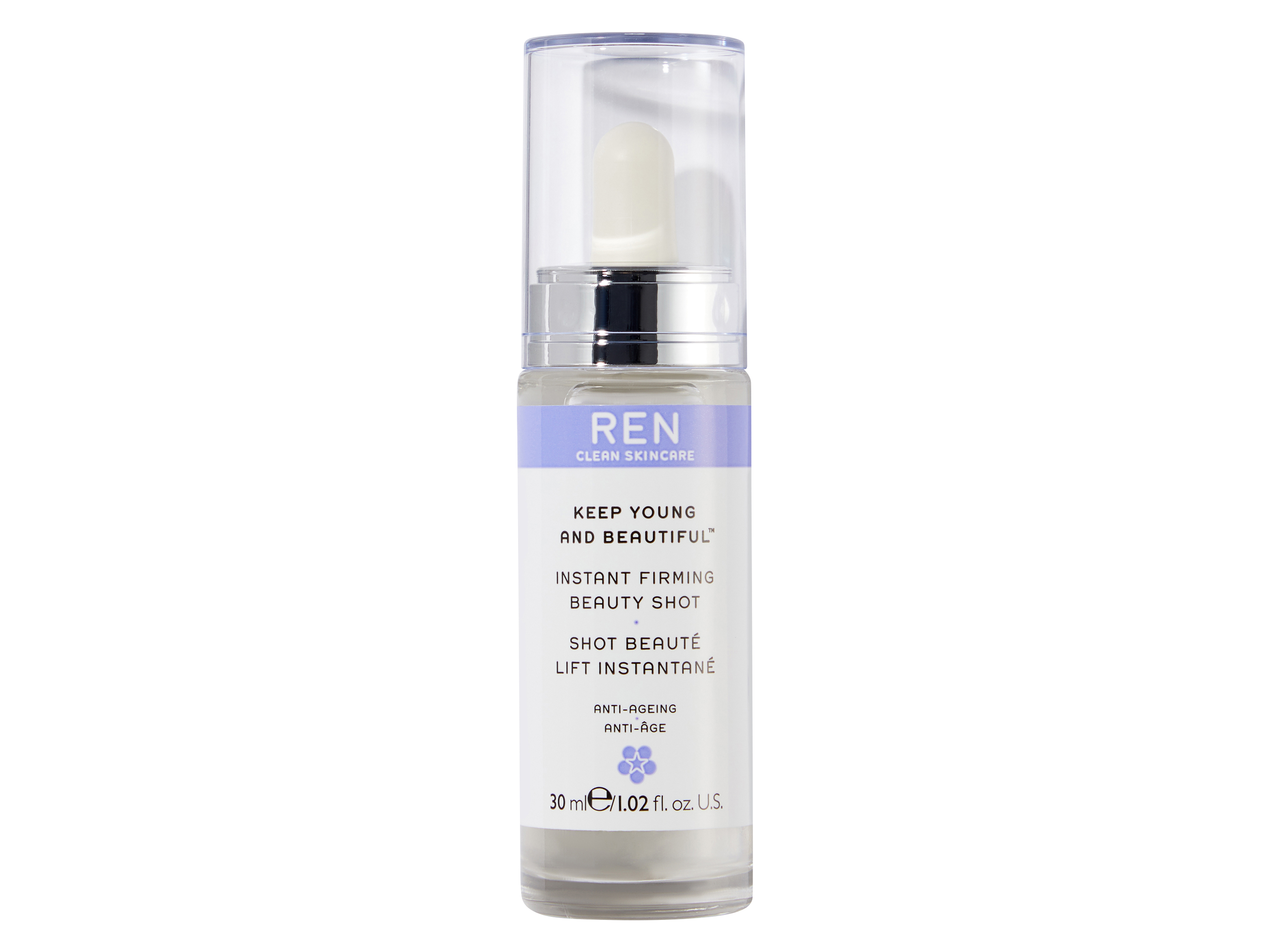 REN Keep Young and Beautiful Instant Beauty Shot, 30  ml