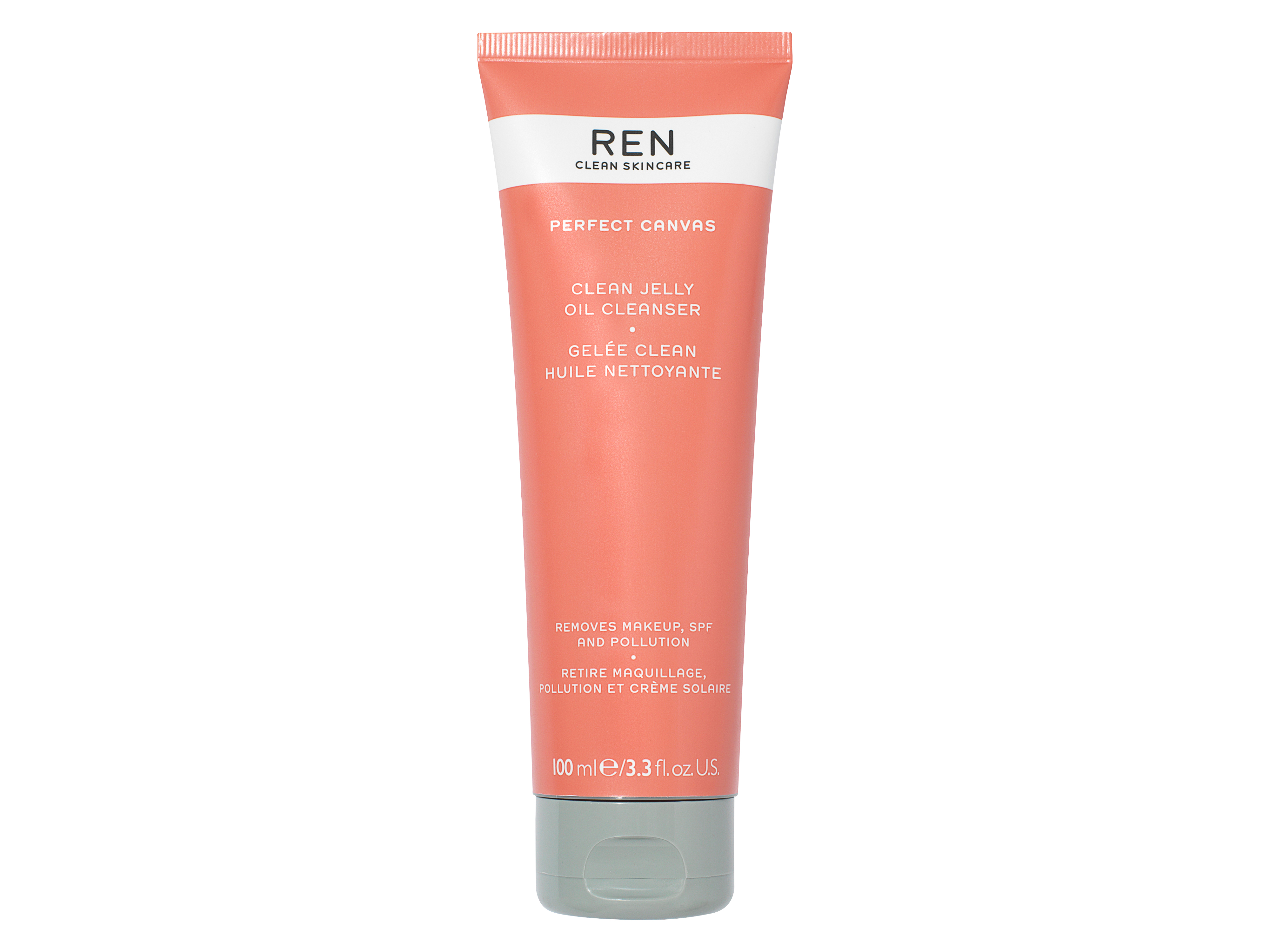 REN Perfect Canvas Jelly Oil Cleanser, 100 ml